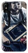 Naughty School Girl IPhone Case