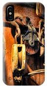 Nautical - Boat - Block And Tackle  IPhone Case