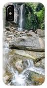 Nauyaca Waterfall IPhone Case