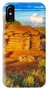 Navajo Hogan Canyon Dechelly Nps IPhone Case