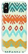 Southwest Pattern I IPhone Case by Nicholas Biscardi