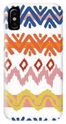 Southwest Pattern IIi IPhone Case by Nicholas Biscardi