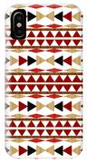 Navajo White Pattern IPhone Case