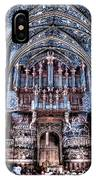 Nave Organ And Paintings Of Saint Cecile IPhone Case