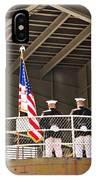 Navy Men IPhone Case
