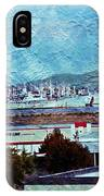Navy Ships As A Painting IPhone Case
