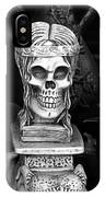 Nazi Helmets Skeletons Elephant Statuary Border Town Nogales Sonora Mexico 1968 IPhone Case