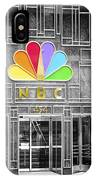 Nbc Facade Selective Coloring IPhone Case