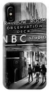 Nbc Studios IPhone Case