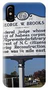 Nc-a54 George W. Brooks IPhone Case