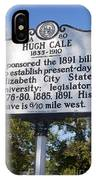 Nc-a80 Hugh Cale 1835-1910 IPhone Case