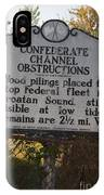 Nc-bbb3 Confederate Channel Obstructions IPhone Case