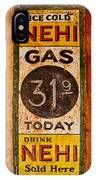 Nehi And Gas Sold Here IPhone Case
