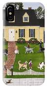Neighborhood Dog Show IPhone Case