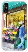 Neighborhood Flower Shop IPhone Case
