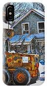 Neighbourhood Snowplough 2 IPhone Case