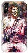 Neil Young Original Painting Print IPhone Case