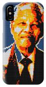 Nelson Mandela Lego Pop Art IPhone Case