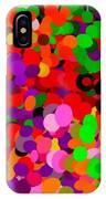 Neo-pointillism IPhone Case