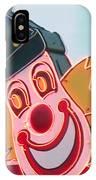Neon Clown IPhone Case