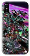 Neon Coleus IPhone Case