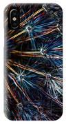 Neon Dandelion IPhone Case