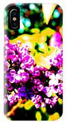 Neon Lilac IPhone Case