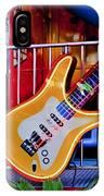 Neon Rock N Roll IPhone Case