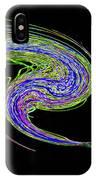 Neon Twirl IPhone Case