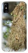 Nest Of Altamira Oriole Icterus Gularis IPhone Case