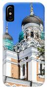 Nevsky Cathedral - Tallin Estonia IPhone Case