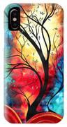 New Beginnings Original Art By Madart IPhone Case