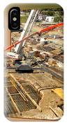 New Commercial Construction Site 02 IPhone Case