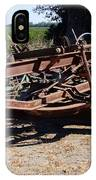New Crop Antiquated Grader IPhone Case