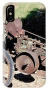 New Crop Antiquated Plow IPhone Case
