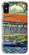 New England Covered Bridge By Prankearts IPhone Case