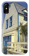 New England Style Building At Fisherman's Village Marina Del Rey Los Angeles IPhone Case
