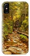 New England Waterfall Gorge IPhone Case