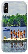 New England Watersports IPhone Case