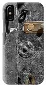 New Lock On Old Door 1 IPhone Case