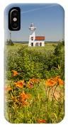 New London Range Rear Lighthouse IPhone Case