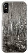 New Mexico Series - Bare Autumn Bw IPhone Case