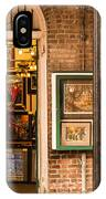 New Orleans Art Shop On Royal IPhone Case