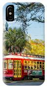 New Orleans - Canal St Streetcar 2 IPhone Case
