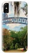 New Orleans City Park - Pizzati Gate Entrance IPhone Case