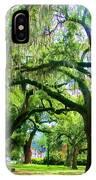 New Orleans City Park - Live Oak IPhone Case