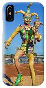 New Orleans Clown French Quarters IPhone Case