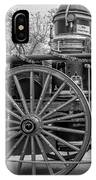 New Orleans Fire Department 1896 Bw IPhone Case