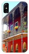 New Orleans French Quarter Architecture 2 IPhone Case
