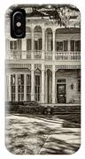 New Orleans Home - Paint Sepia IPhone Case